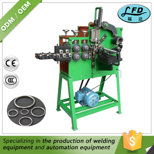 Online Product Selling Websites Metal Brooch /Ring/Buckle Making Processing Machine