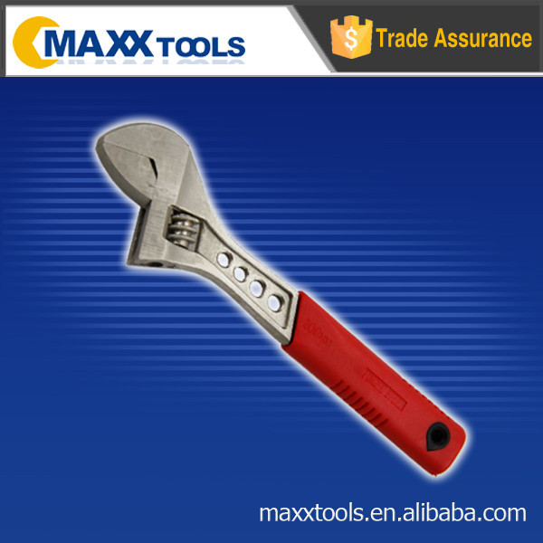 45# carbon steel adjustable wrench x cross wrench