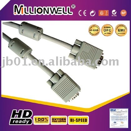 Manufacturing for xbox 360 vga cable,phone to vga adapter,vga to bnc adapter