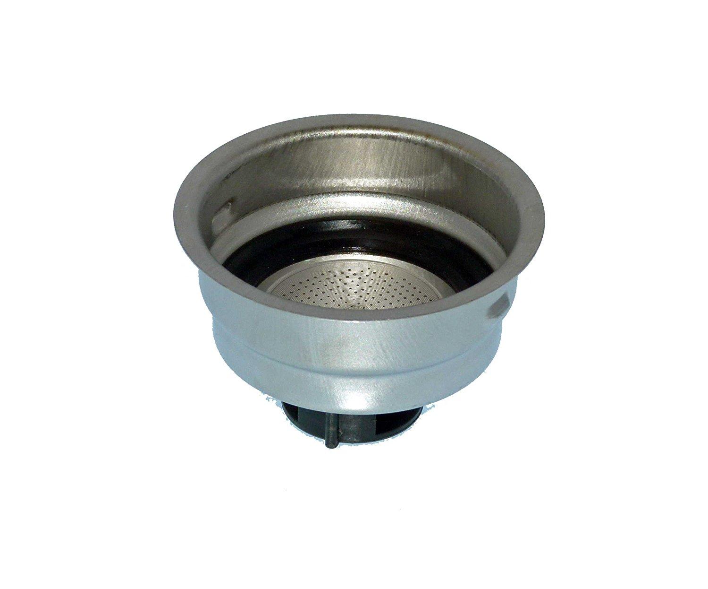 Delonghi Filter Assembly 2 Cup For Delonghi Models DES028, BCO430, DES029, DES027, ECO310R
