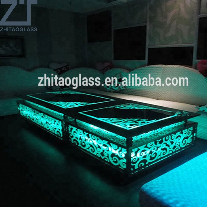 Cheap and simple LED glass mini hotel <strong>bar</strong> counter sell