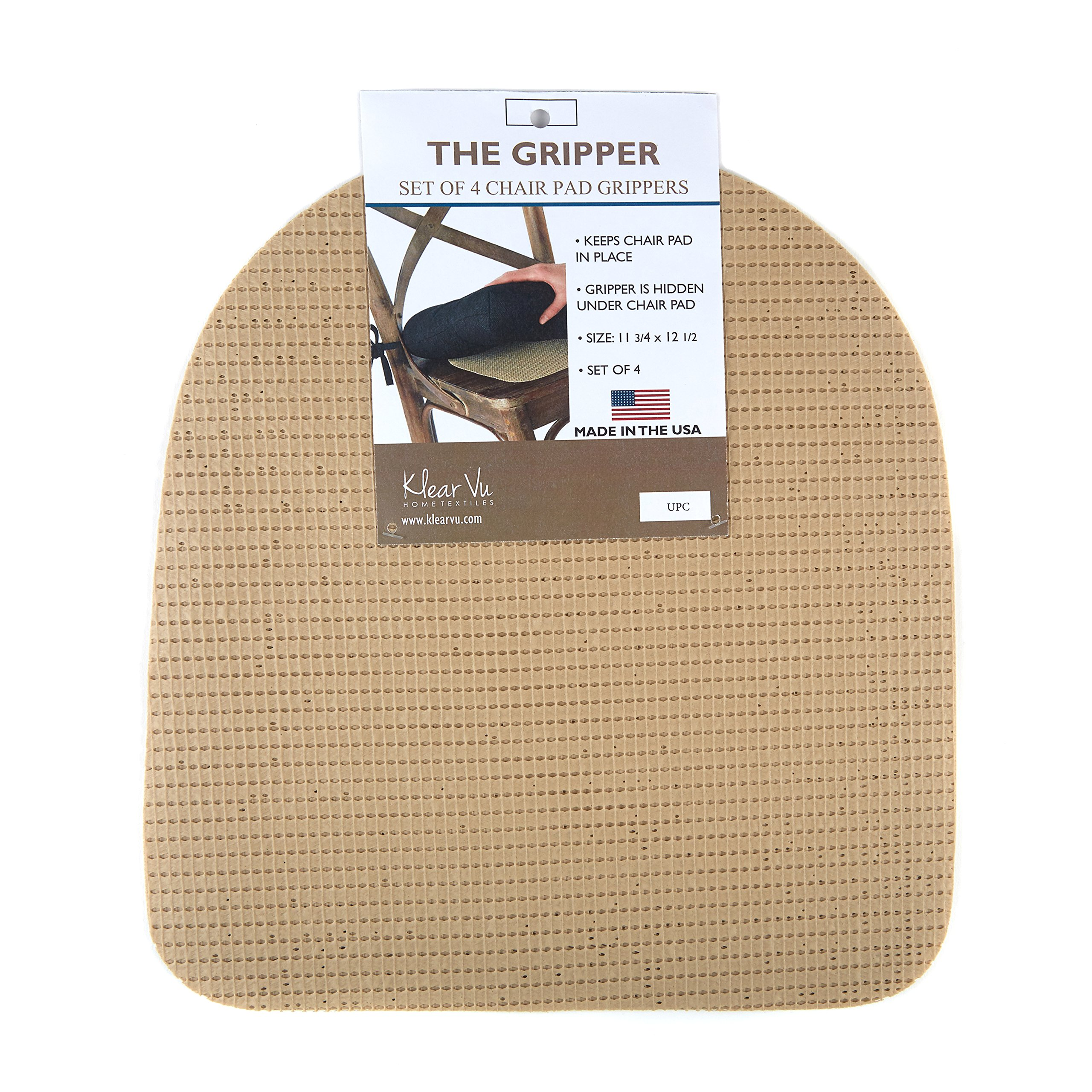 Beautiful The Gripper PK GRPR SKW PK Non Slip Gripper Pads For Chair Cushions, 12.5