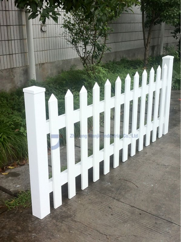 Tan Or White Garden Fences Plastic   Buy Garden Fences Plastic,Plastic Picket  Fence,Decorative Vinyl Fencing Product On Alibaba.com