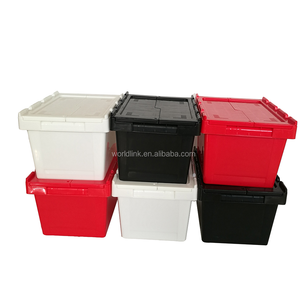 New Plastic 30L Stackable And Nestable Turnover Box