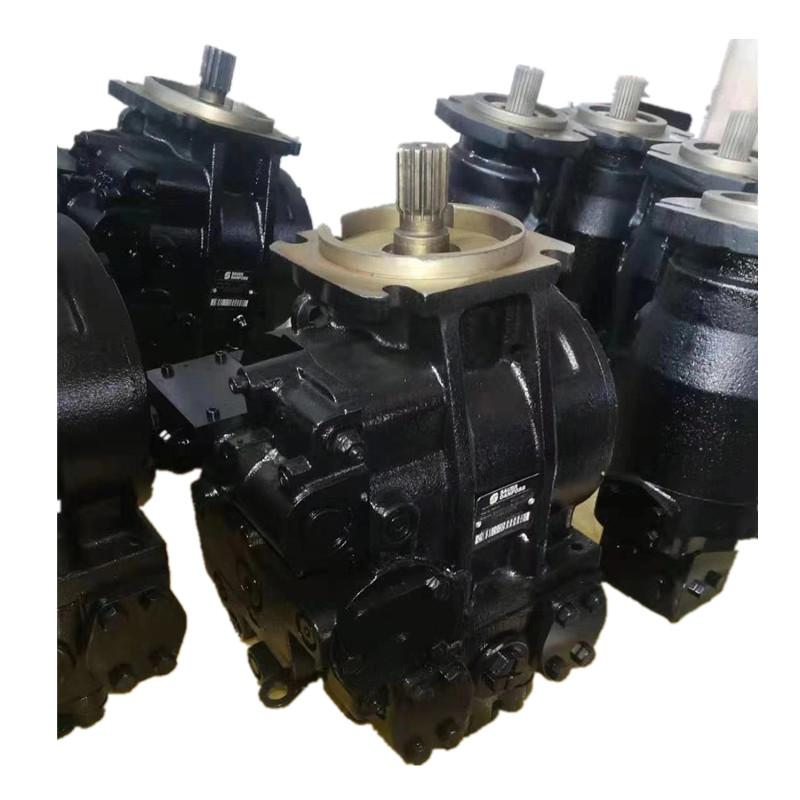 Sauer PV90R100 hydraulic piston pump and MF23 hydraulic motor