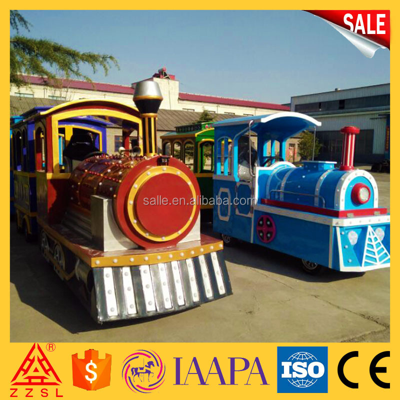 2017 Newest Shopping Mall Amusement Center Vintage Electric Tourist Train