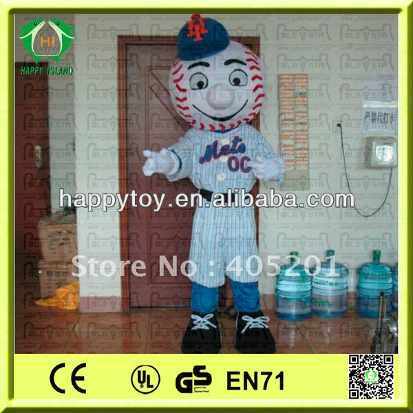 HI CE High quality mr met costume/ met mascot for adults