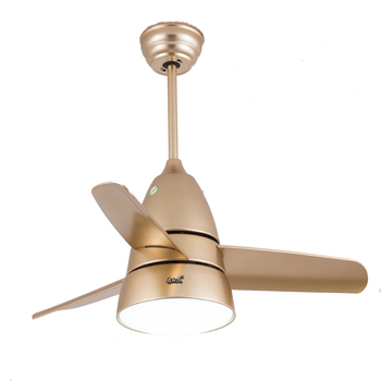 36 Inch Remote Control Small Ceiling Fan With Led Light Kits For