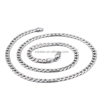 500mm polished simple latest chains for man jewelry