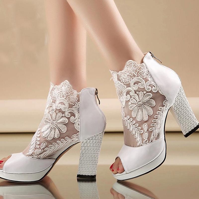 Black Evening Shoe Boots