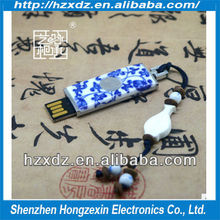 Wholesale good fancy pen drive/Chinese blue and white porcelain mobile Usb Flash drive disk