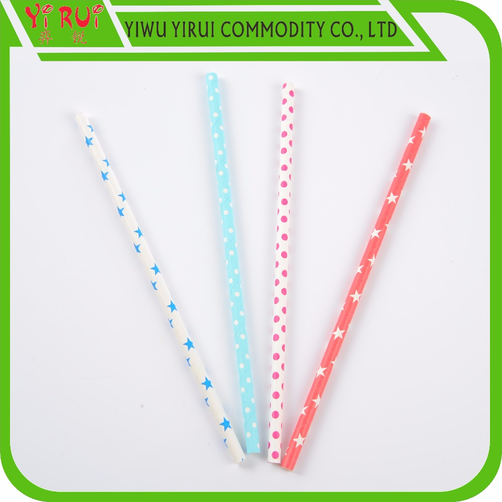 Kraft Paper Drinking Straws From Yiwu Factory