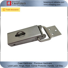 stainless steel eccentric closure for treadplate boxes