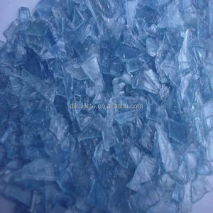 High Quality PC blue water bottle plastic particles/water bottle flakes