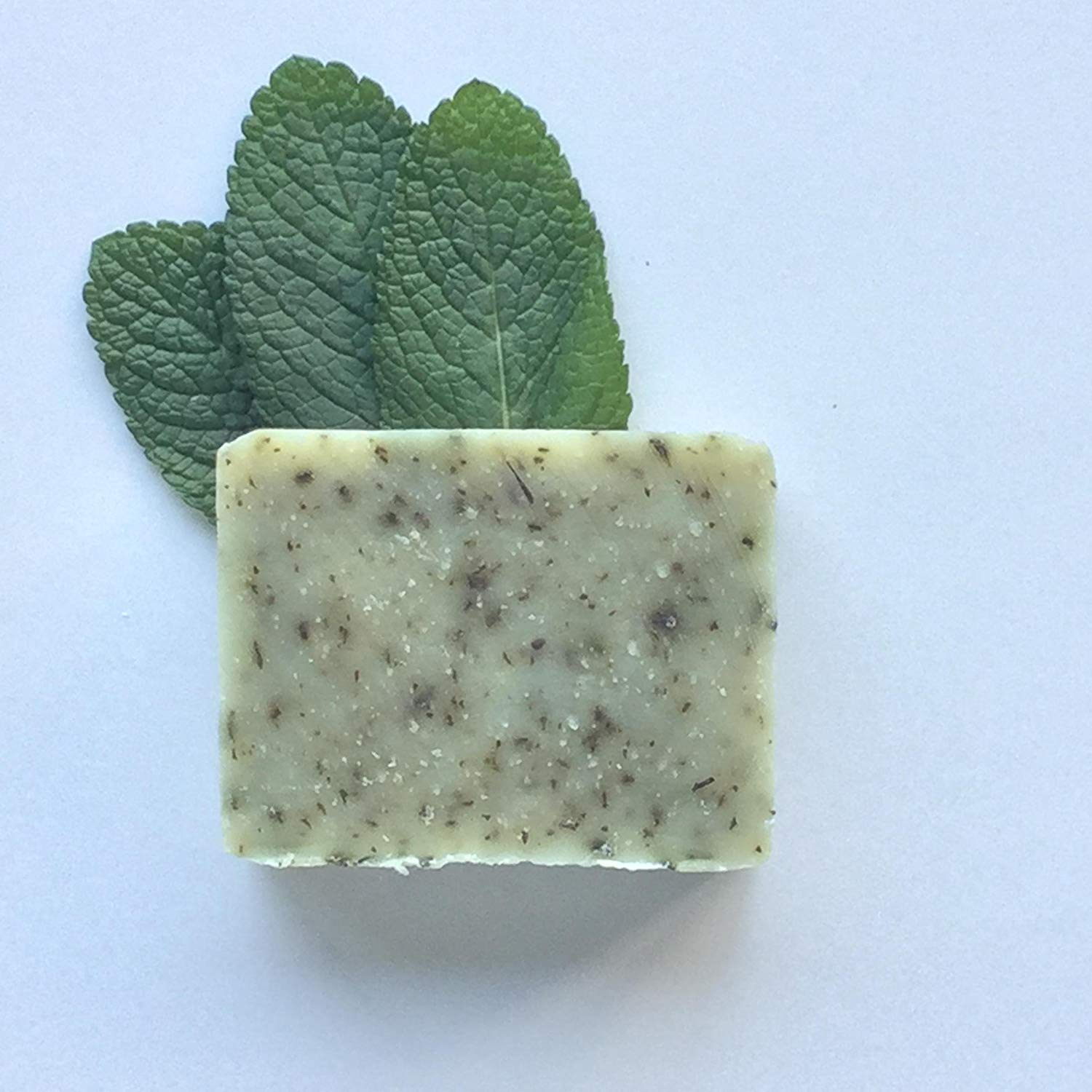 Refreshmint Soap, Handcrafted, Organic Ingredients, 100% Natural, Vegan, Peppermint, Essential Oils, Handmade in small batches by The Willow Grove