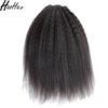 Very popular afro kinky straight style,human kinky hair weave