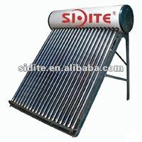 Large Capacity Domestic Integrative Non-pressurized solar water heater