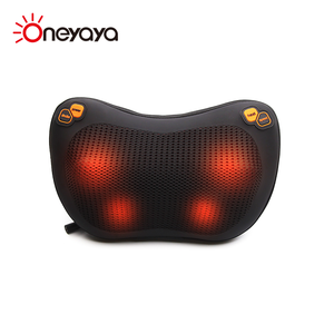 Super September Factory Sale Electric Infrared 3D Kneading Air Pressure Massage Head Neck Pillow