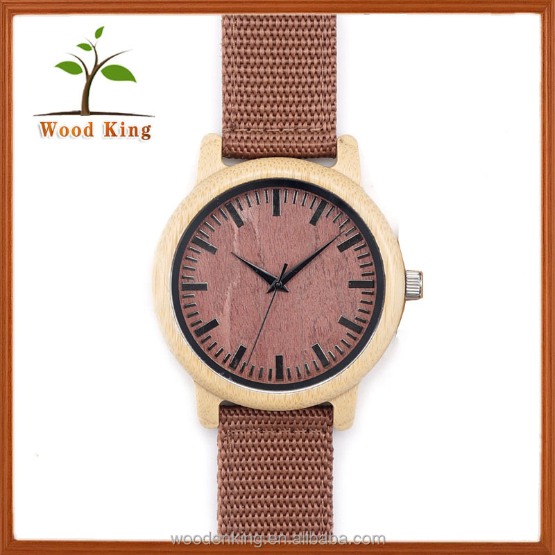 2017 Fashion Women Fashion Gift Digital Japanese Movt Quartz Mini Miniature Watch Original Grain Wooden Watch