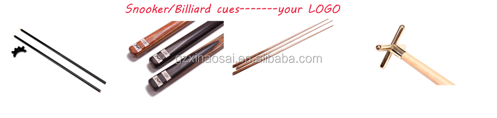 "36"" hold 1butt and 1 shaft genuine Leather billiard cue case"