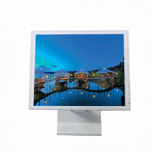 White Casing 17'' Touch Screen LCD Monitor VGA HD for Medical