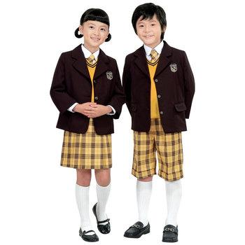 77b9834cfa6ce9 British japanese school uniform for girls and boys winter cardigan shirt  plaid skirt school uniform design