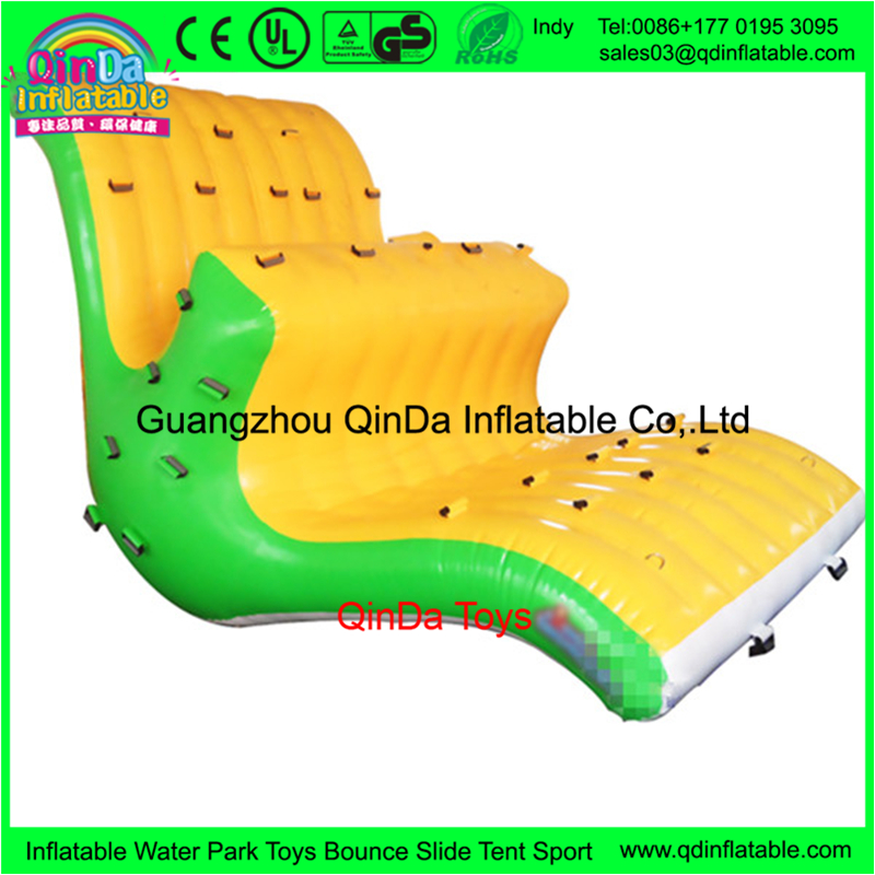Popular exciting big size inflatable water totter for sales, giant inflatable seesaw aqua revolution