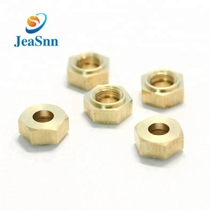 Hex Thin Nut Chinese wholesale Copper bolts nuts for cooker hood