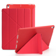 luxury folio smart flip leather tablet cover case for the new ipad 9.7 2018