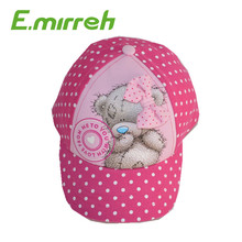 Lovely Custom 5-Panel baseball Cap ,baby softtextile cap and hat