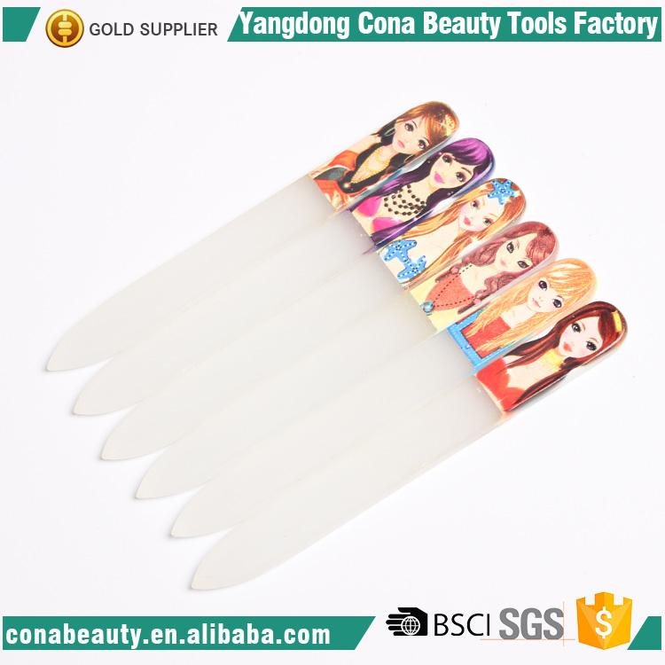 high quality 100 180 grit glass nail files wholesale