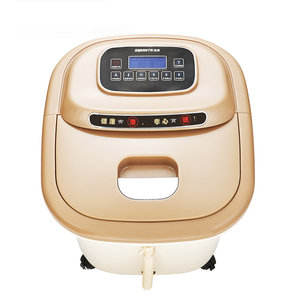 SUNWTR leg pressure machine foot wash tub vibrating massager