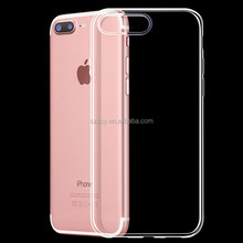 Hot new design colorful clear transparent mobile phone casing cover for iphone 7 7p