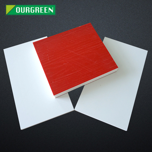 Nanjing Ourgreen 4X 8 Rigid 5mm / 10mm / 15mm pvc foam board for Furniture / Cabinet