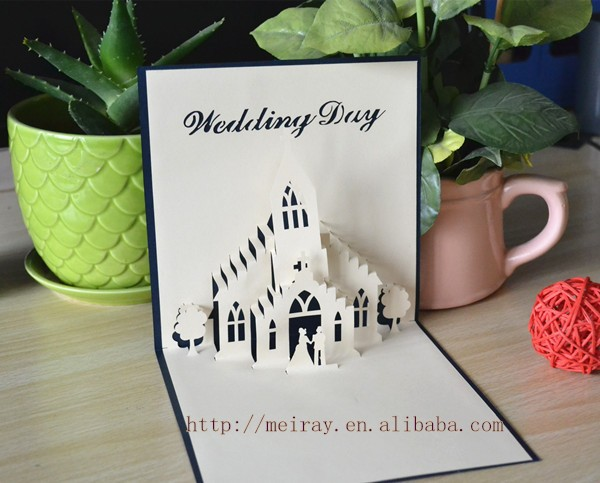 Laser Cut Pop Up Wedding Invitation Card, Laser Cut Pop Up Wedding  Invitation Card Suppliers And Manufacturers At Alibaba.com