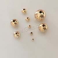 Gold Filled Round 14K gold-filled beads 8mm Seamless Beads