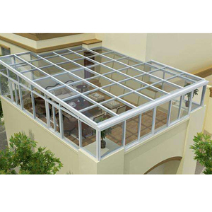 interior modern aluminum main gate designs conservatory or glass green houses.