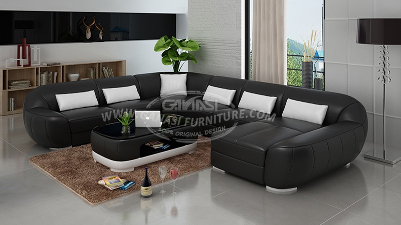 G8022: Sectional Sofa Italy Design