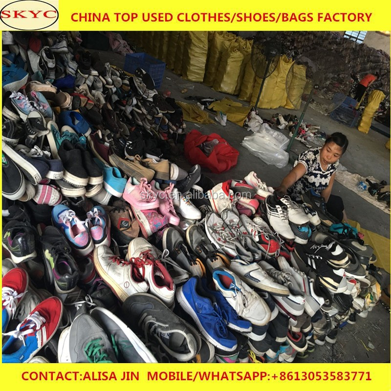 half off c7934 cd41e Guangzhou warehouse sell high quality cheap used shoes in bales 25kg  premium used shoes used clothing sale africa market