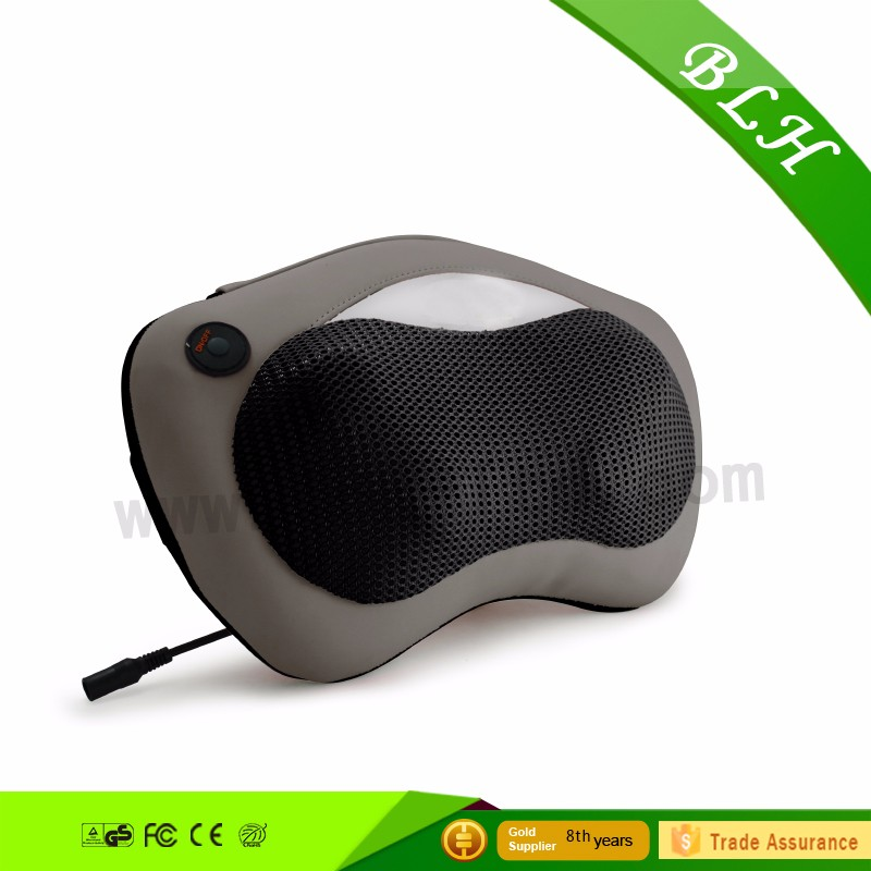 Neck and Back kneading massage pillow Massager Shiatsu massage cushion with Heat for car office use