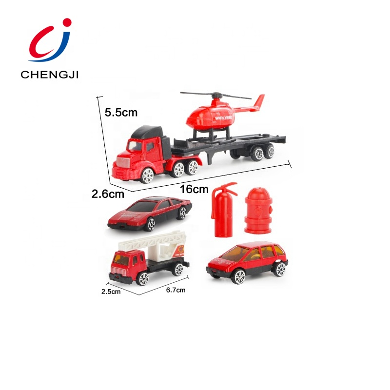 Wholesale funny kids small metal toy 4 design model car diecast