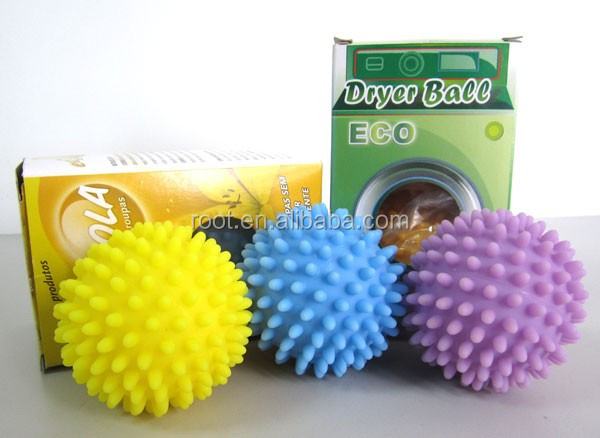 Anti Static Colorato Spiky Plastica Dryer Balls