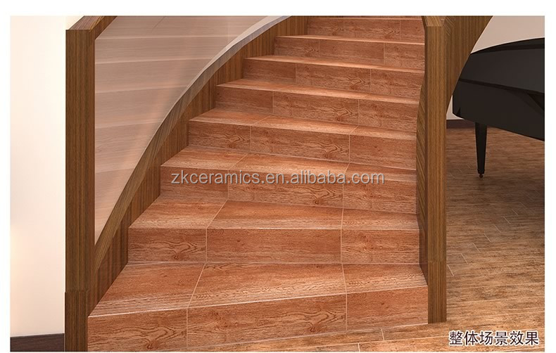 Nice Design Wood Effect Ceramic Tile Stair Tile That Looks Like Wood Floor