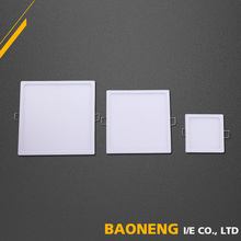 Square Shape 8W Aluminium Frame Profile LED Panel Ceiling Light