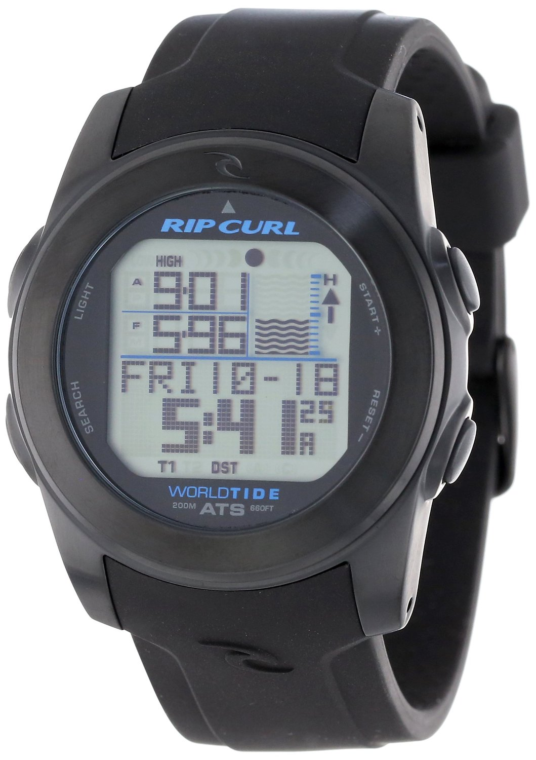 5c1bc949bf Buy Rip Curl Mens A1083 - BLU Pipeline Stainless Steel Surf Watch ...