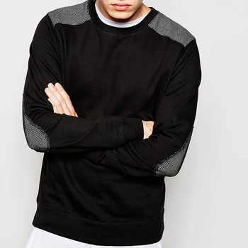 Mode Crewneck Sweat En Molleton De Coton