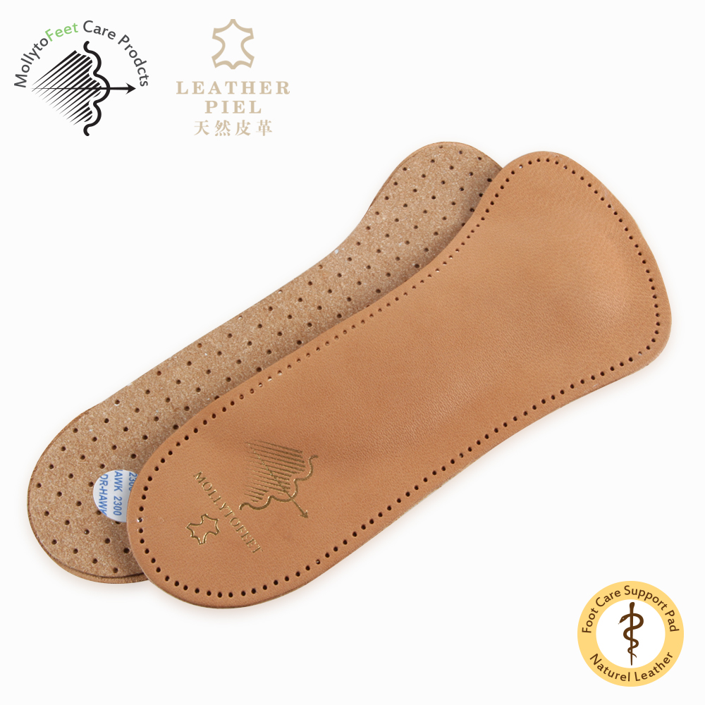 Genuine Leather 3/4 Insole