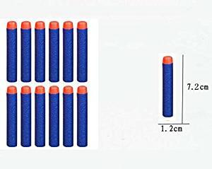 200pcs Lot 7.2cm Refill Bullet Darts for Nerf N-strike Elite Series Blasters Toy gun