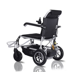 Easy Folding Power Mobility Electric Lightweight Wheelchair for Outdoor