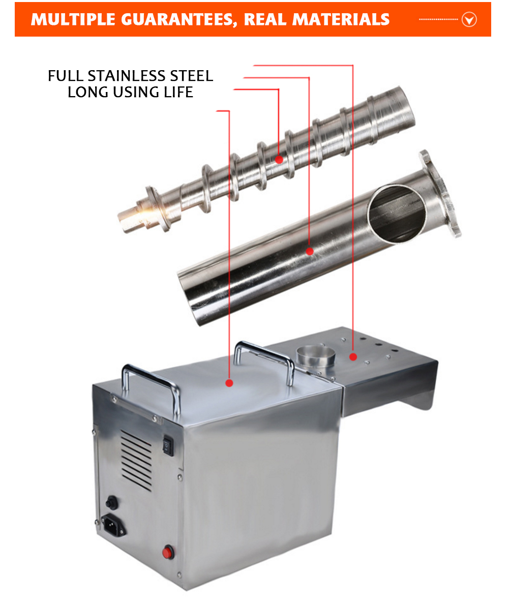 Stainless steel oil press for sale mini machine india sesame machine cheap price